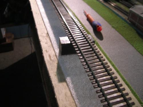 Le ballast de la voie secondaire (1)