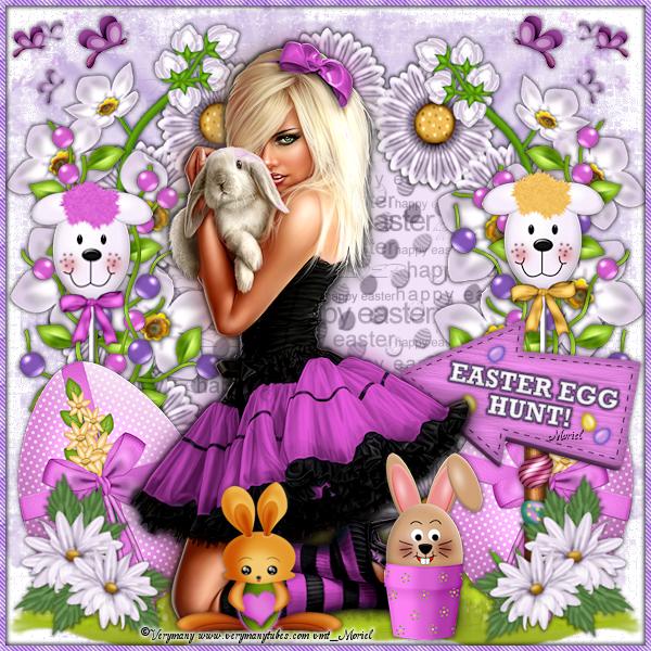 """Tutoriel 83 """"Sweet Easter"""""""