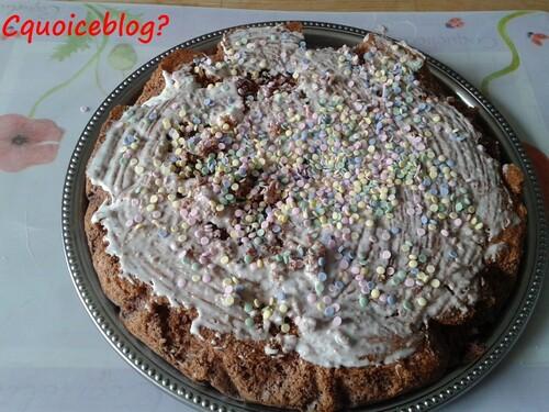 gâteau magique à la noix de coco et chocolat