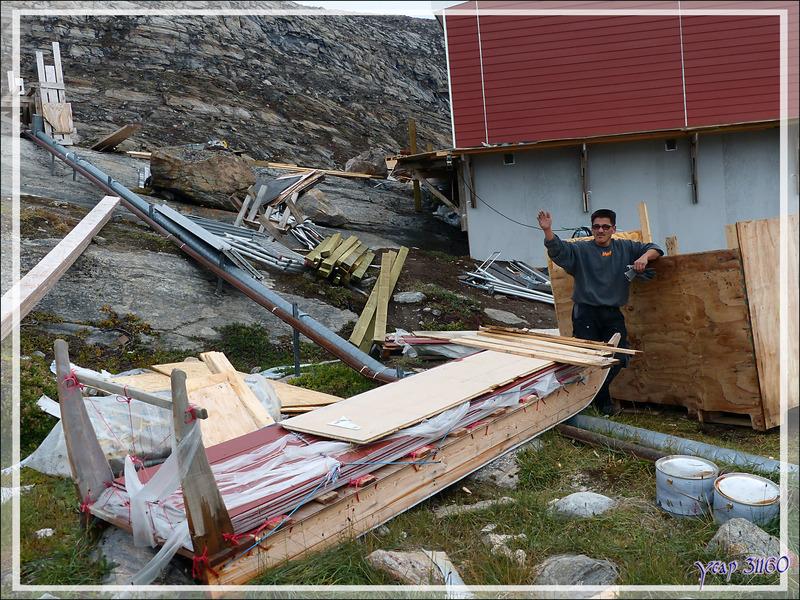 Balade vers les hauteurs de Kullorsuaq - Qaasuitsup - Groenland