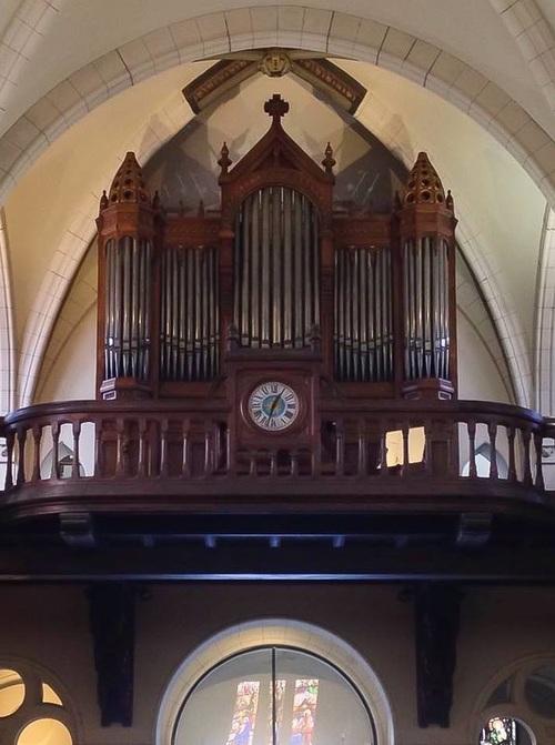 L'orgue de l'église Saint-Joseph d'Enghien-les-Bains
