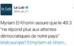 Valls l'enfarineur enfariné