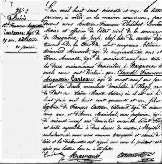 """""""La bataille de Baigneux-les-Juifs, le 11 janvier 1871"""", un notule d'histoire de Dominique Masson"""