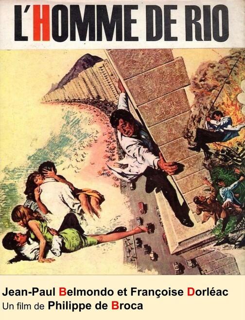 Box-office des exclusivités de Bruxelles - 1964, 2ème trimestre