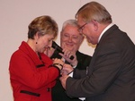 Mme Marreteux promue au grade de chevalier dans l'ordre des Palmes Académiques