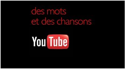 Mes vidéos sur YouTube