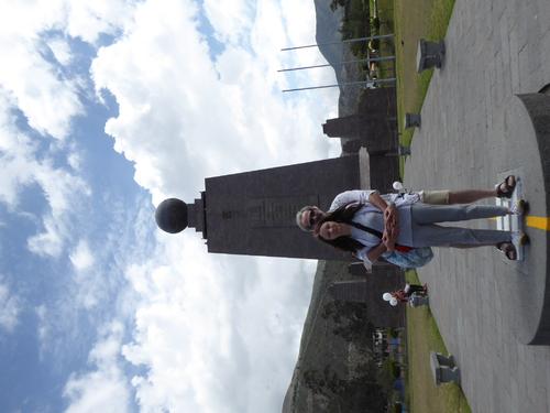 5 eme jour Mindo, Centre du Monde, Quito