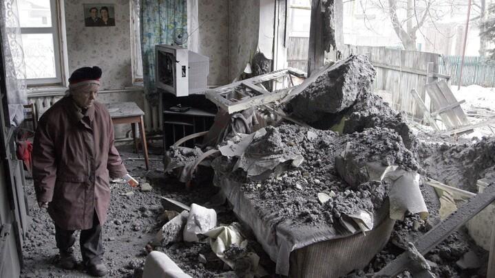 Donetsk, l'Est de l'Ukraine.
