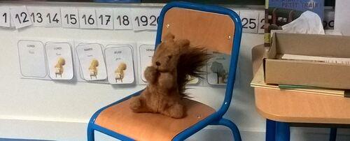 Une mascotte pour la classe!