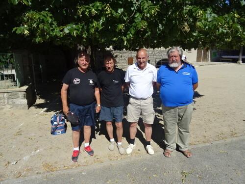 Vétérans de Jaujac du 6 juillet 2016