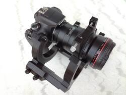 Canon 200 f:2.8 LII USM bracket for astrophotography