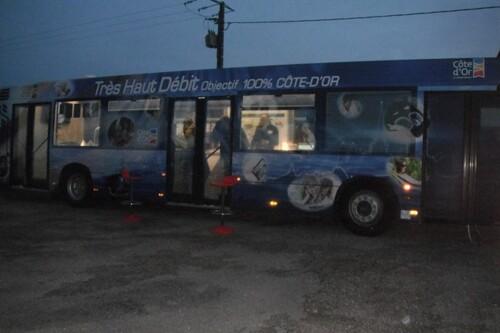 Bus numérique du Conseil Départemental