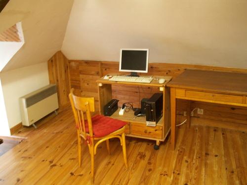 Les 5 PC de travail en ligne  de CASAR domicile de Francis GATTI