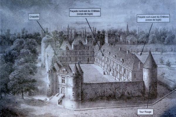 Visite du verger du Château de Montigny-sur-Aube