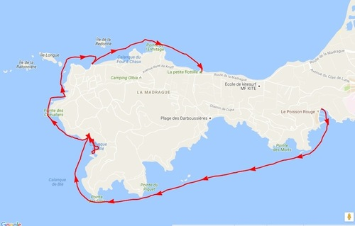 Port du Niel, La Madrague (Kayak)