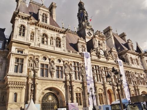 Quelques vues de l'Hôtel de Ville de Paris