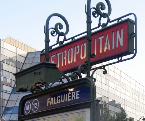 Promenade autour de la tour Montparnasse