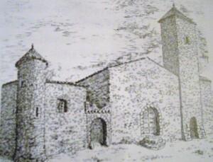 Entree Fort - Porte ouest ( dessin J.Bellisens) (649 x 497)