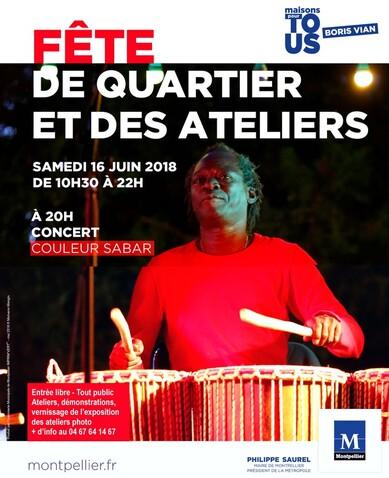 ★ Concert Fodé Diop & Couleur Sabar [Samedi 9 Juin 2018]