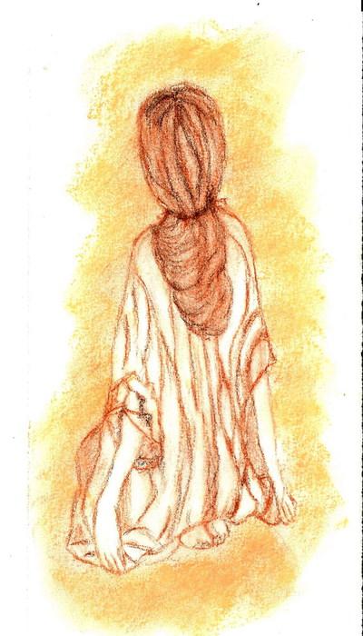 Blog de chouquette :dessins et chant chorale, en position zénitude
