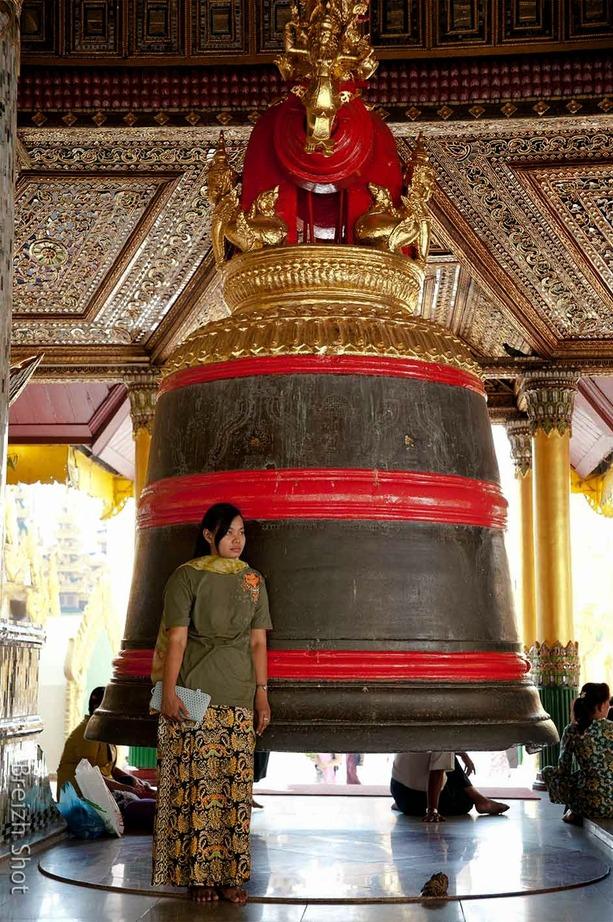 Grande Cloche Bouddhique - Shwedagon