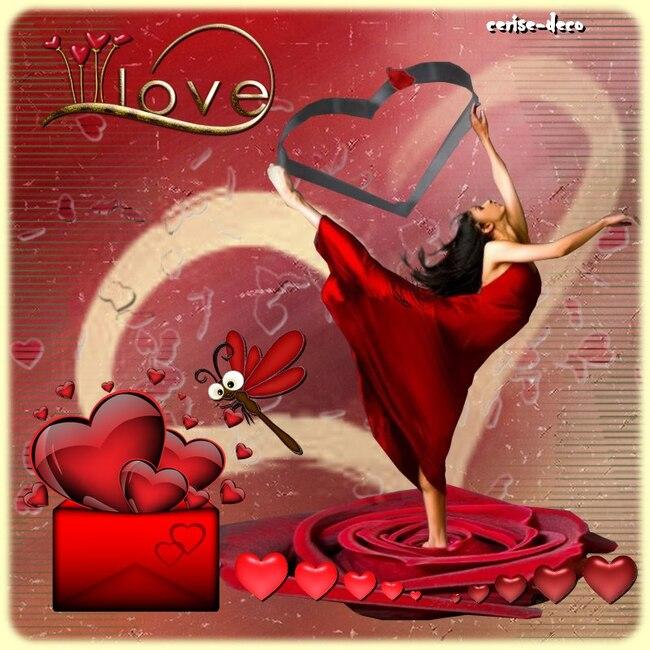 cadeau ; cluster saint valentin