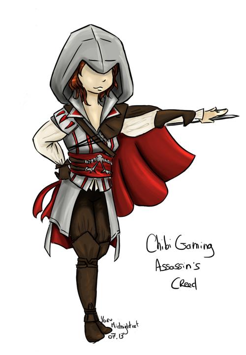 Chibi Ezio Girl
