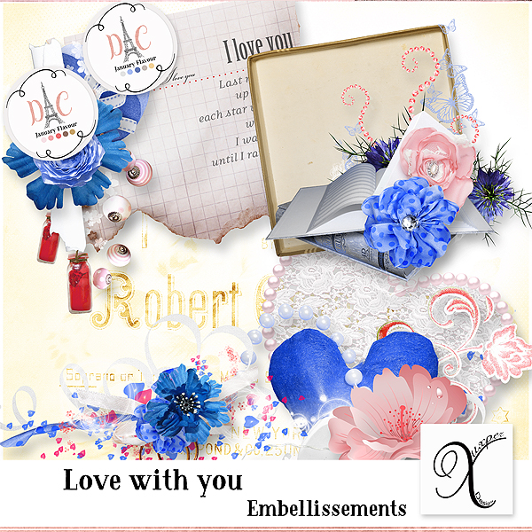 Love with you Embellissements