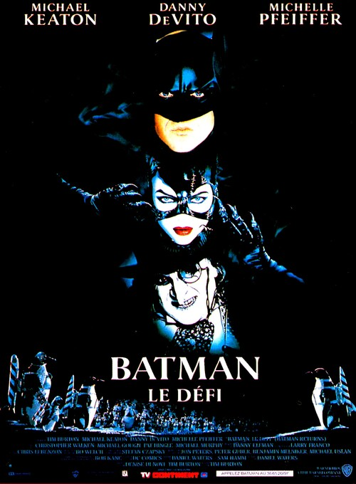 BATMAN LE DEFI - BOX OFFICE BATMAN 1992