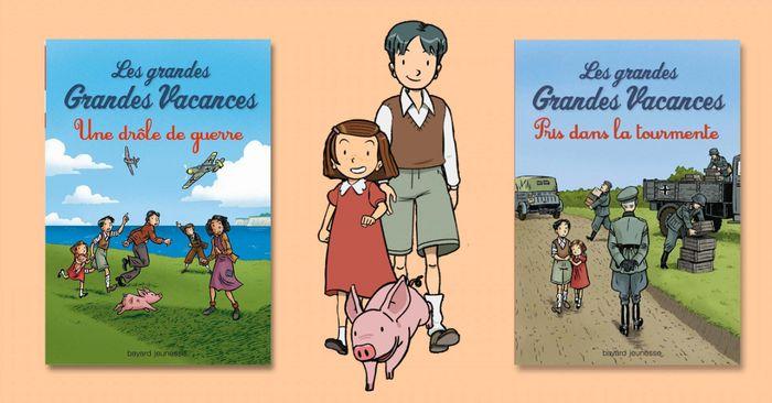 Les grandes Grandes Vacances – Michel Leydier | Ma ...