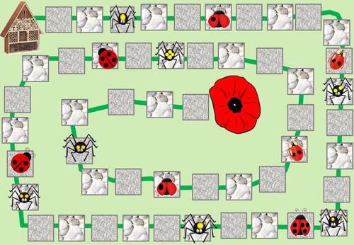 MHM : jeu des coccinelles et jeu du potager