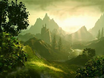 Jolie paysage de rêves