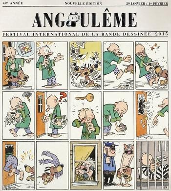 Affiche BD Angoulême 2015