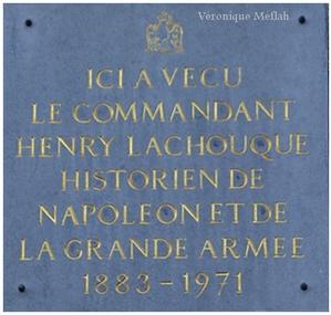 Maison du Commandant Henry Lachouque, le grognard de Montmartre