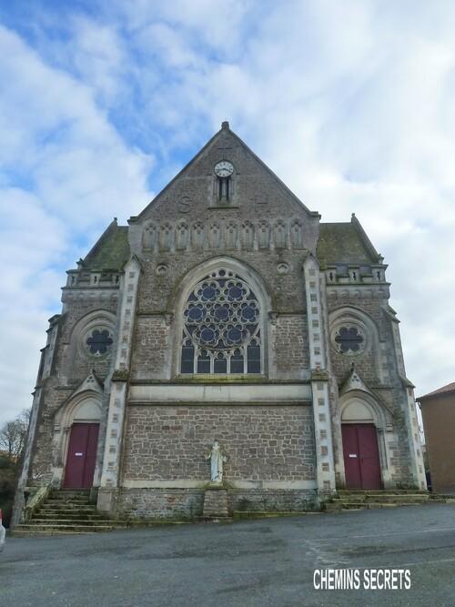 Balade à Saint-Hilaire de Mortagne....