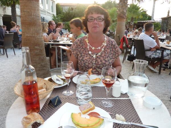 Banyuls - Villa Camille moi au dîner