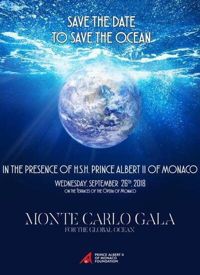 Madonna au Gala 'Save the Ocean' de Monaco le 26 Septembre