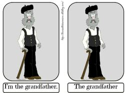 Flashcards the grandfather