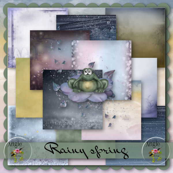 Rainy Spring by Scrap'Angie