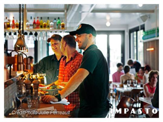 Restaurant:  restos 2013, #1: Impasto