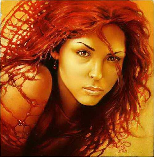 ART FEMININ de KARL BAK  Peintre Polonais