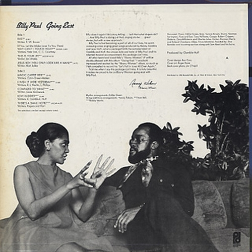"1971 : Billy Paul : Album "" Going East "" Philadelphia International Records ‎Z 30580 [ US ]"
