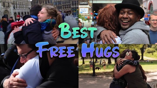 FREE HUGS. Best of Free Hugs (Calins gratuits)