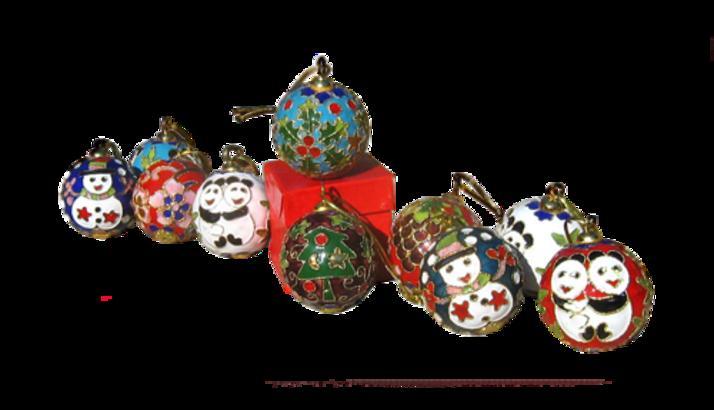 Boules de Noël Série 4