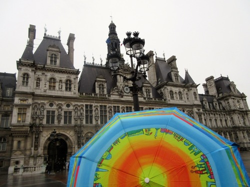 Mairies et parapluies