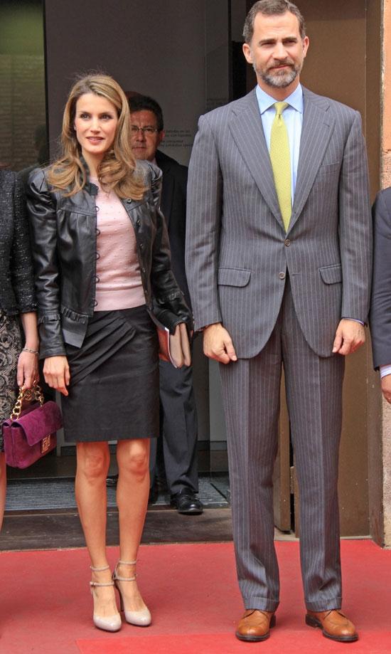 Felipe et Letizia à Séville