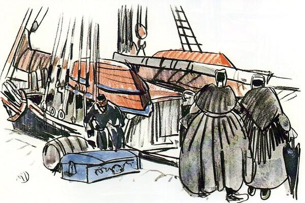 Les marins bretons  de Terre-Neuve (1)