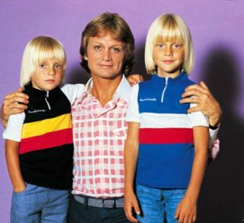 claude et ses deux enfants