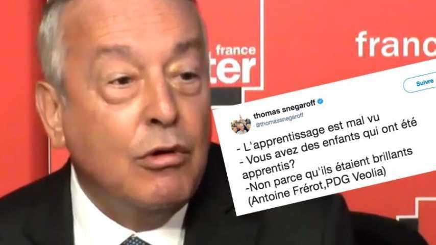 Antoine Fréroit, PDG de Véolia