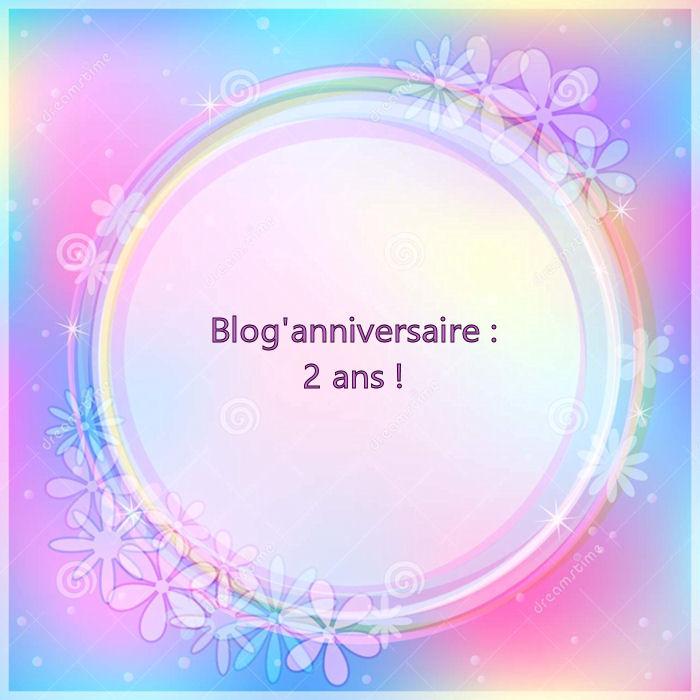 Anniversaire du blog